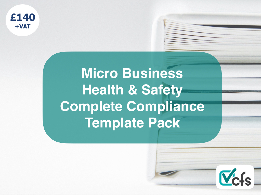 health and safety complete compliance package for small businesses micro business hs template