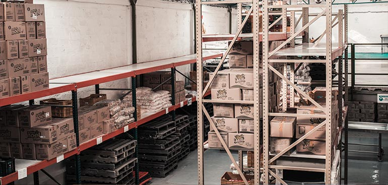 warehouse storage to illustrate brc storage and distribution standard
